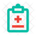 Medical Record Sick List Icon