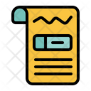 Medical Record Medical Medicine Icon