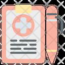 Medical Record Medical Medical Folder Icon