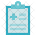 Medical Service Medical Record Report Icon