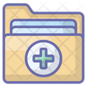 Medical Folder Medical Record Patient History Icon