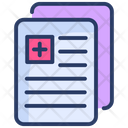 Medical Paper Records Icon