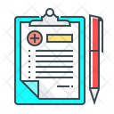 Medical Records Medical Book Document Icon