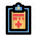Medical Records Clipboard Health Icon