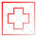 Medical Red Cross Icon