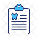 Medical Report Dental Report Report Icon