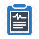 Clipboard Report Medical Icon