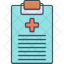 Medical Report Report Notepad Icon