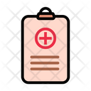 Medical Report Clipboard Healthcare Icon