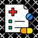 Prescription Health Medical Icon