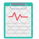 Medical Report Chart Icon