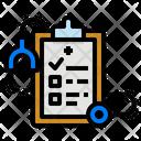Report Clipboard Medical Checklist Healthcare Icon