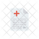 Medical Report File Icon