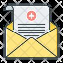 Medical Report Doctor Description Prescription Icon