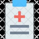 A Medical Report Medical Report Hospital Report Icon