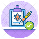 Patient Report Medical Suggestion Case History Icon