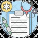 Medical Prescription Medical Receipt Medication Icon