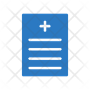 Medical Report Sheet Icon