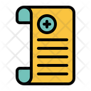 Medical Report Medical Medicine Icon