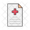 Report Medical Sheet Icon
