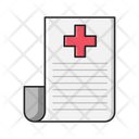 Report File Medical Icon