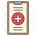 Clipboard Medical Report Icon