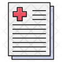 Report Medical Test Icon