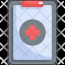 Clipboard Medical Hospital Icon
