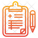 Clipboard Document History Icon
