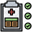 Patient Report Health Icon