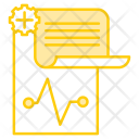 Medical History Care Icon