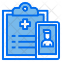 Medical Report Report Smartphone Icon