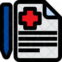 Medical Report Medical Sheet Report Icon