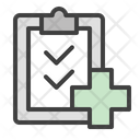 Medical Report Medical Research Questionnaire Icon