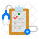 Medical Report Report Clipboard Icon