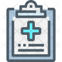 Medical Document Report Icon