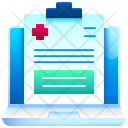 Medical Report Health Report Icon