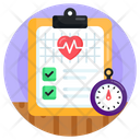 Health Report Medical Record Medical Report Icon
