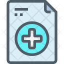 Document Medical Report Icon