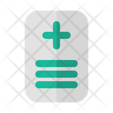 Medical Report Health Document Book Icon