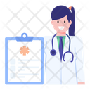 Medical History Medical Chart Medical Report Icon