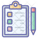 Medical Report Checklist Icon