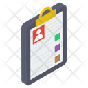 Medical Report Prescription Icon
