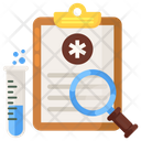 Lab Test Laboratory Test Medical Test Icon