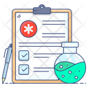 Health Report Medical Report Medical Research Icon