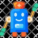 Medical Robot Icon