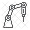 Medical Robot Technology Icon