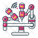 Medical Robot Artificial Intelligence Ai Icon
