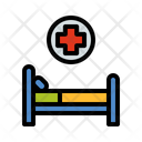 Medical Room Emergency Room Health Care Icon