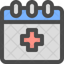 Medical Schedule Date Icon